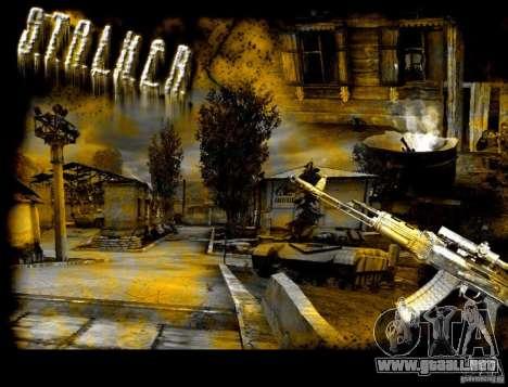 Nueva pantalla de arranque de STALKER para GTA San Andreas