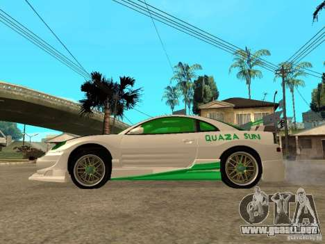 Mitsubishi Eclipse Midnight Club 3 DUB Edition para GTA San Andreas left