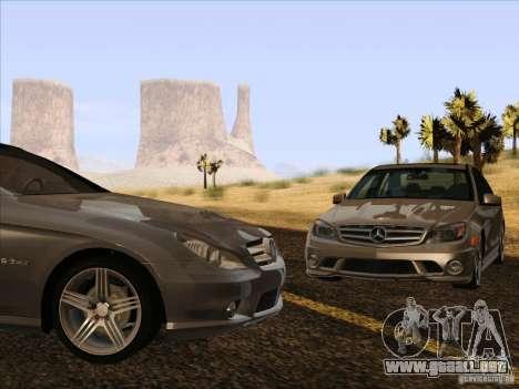 Mercedes-Benz CLS63 AMG para visión interna GTA San Andreas