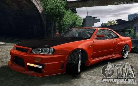 Nissan SkyLine BNR34 para GTA 4