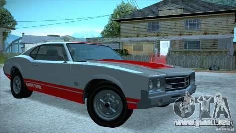 Sabre GT From GTA IV para la visión correcta GTA San Andreas