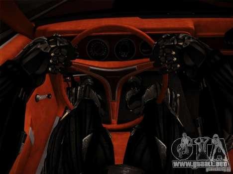 Crysis 2 Nano-Suit HD para GTA San Andreas sucesivamente de pantalla