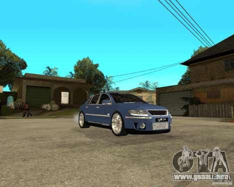 Volkswagen Phaeton para la visión correcta GTA San Andreas