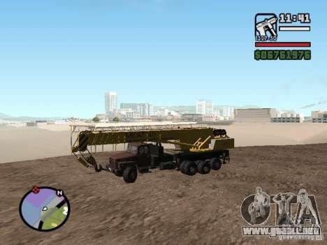 KrAZ-250 MKAT-40 para GTA San Andreas left