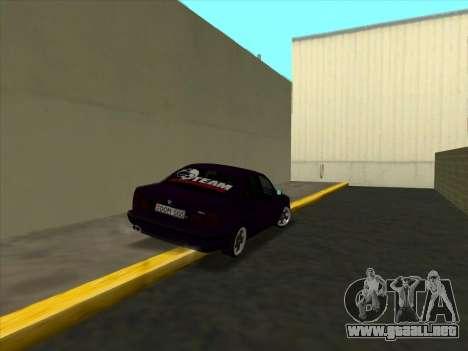 BMW M5 E34 NeedForDrive para la visión correcta GTA San Andreas