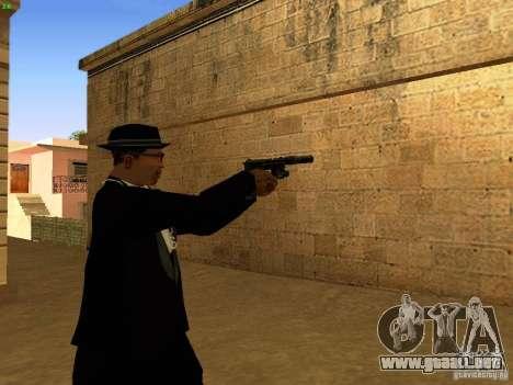 USP45 Tactical para GTA San Andreas quinta pantalla