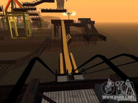 Huge MonsterTruck Track para GTA San Andreas novena de pantalla