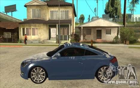 Audi TT 3.2 Coupe para GTA San Andreas left