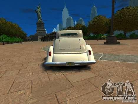 Ford Coupe 1934 para GTA 4 visión correcta