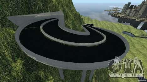 MG Downhill Map V1.0 [Beta] para GTA 4 tercera pantalla