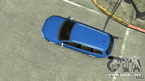 Audi S4 Avant para GTA 4 visión correcta