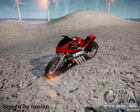 Drag Bike para GTA 4