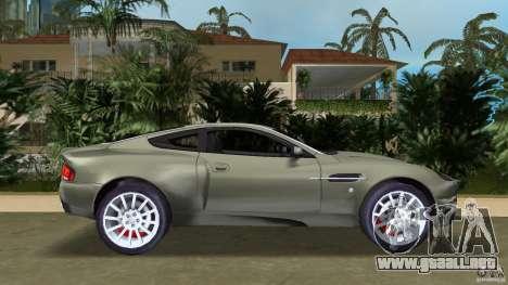 Aston Martin V12 Vanquish 6.0 i V12 48V para GTA Vice City left