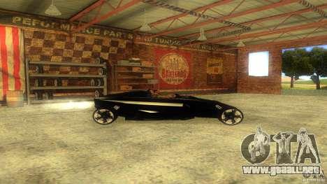 Lamborghini Concept para GTA San Andreas left