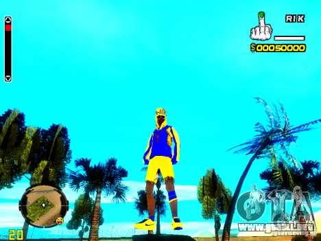 Piel vago v2 para GTA San Andreas segunda pantalla