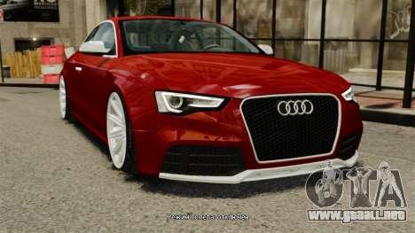 Audi RS5 2012 para GTA 4