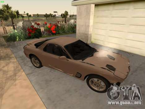 Mazda RX-7 para visión interna GTA San Andreas
