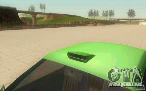 Mad Drivers New Tuning Parts para GTA San Andreas sucesivamente de pantalla