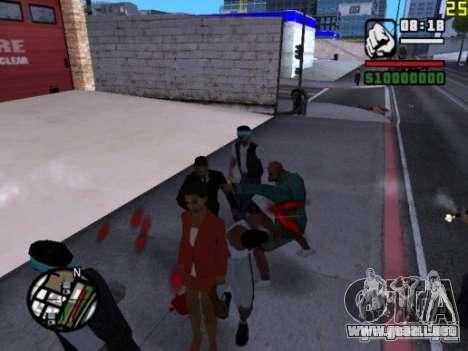 No puedes vencer a las mujeres 2.0 para GTA San Andreas tercera pantalla