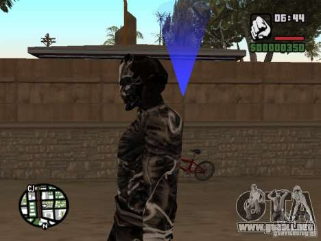 Sandwraith from Prince of Persia 2 para GTA San Andreas tercera pantalla