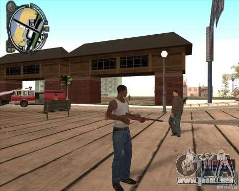 S.T.A.L.K.E.R. Call of Pripyat HUD for SA v1.0 para GTA San Andreas segunda pantalla