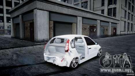 Lada Kalina Tuning para GTA 4 vista lateral