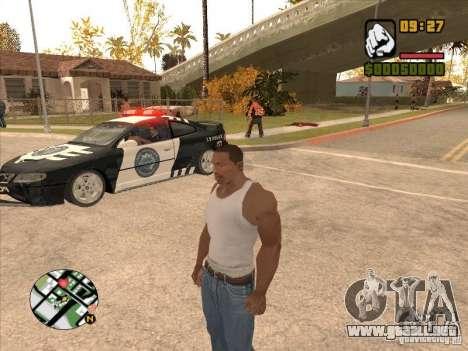 Call the Police para GTA San Andreas tercera pantalla