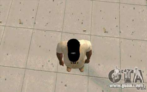 Negro tapa umbro para GTA San Andreas tercera pantalla