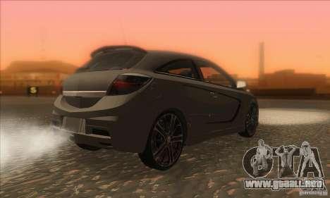 Opel Astra GTC DIM v1.0 para la visión correcta GTA San Andreas