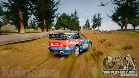 Ford Focus RS WRC para GTA 4 interior