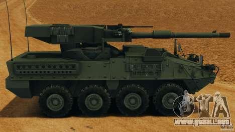Stryker M1128 Mobile Gun System v1.0 para GTA 4 left
