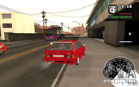 VAZ 21093i para vista inferior GTA San Andreas