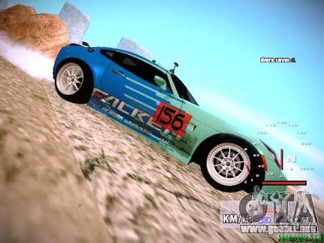 Pontiac Solstice Falken Tire para la visión correcta GTA San Andreas