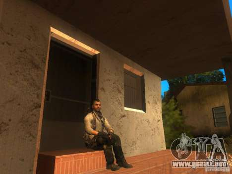 Animation Mod para GTA San Andreas segunda pantalla