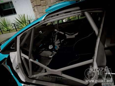 Ford Fiesta RS para GTA San Andreas vista hacia atrás