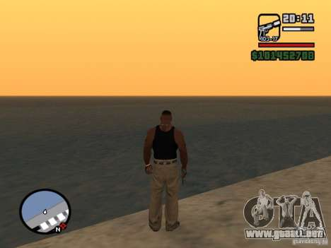 Saturn Mod para GTA San Andreas tercera pantalla