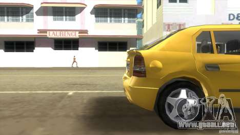 Opel Astra G para GTA Vice City vista lateral izquierdo