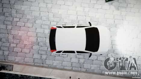Lada Kalina Tuning para GTA 4 Vista posterior izquierda