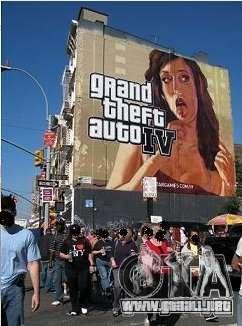 The real Poster Mod para GTA 4 quinta pantalla