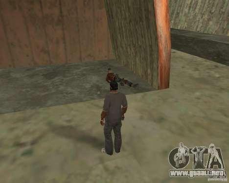 Barney sin hogar para GTA San Andreas séptima pantalla