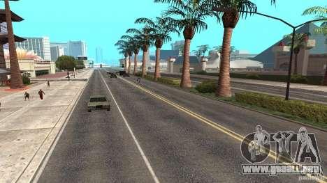 New HQ Roads para GTA San Andreas sexta pantalla