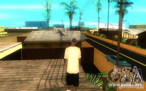 Nuevas texturas de El Corona para GTA San Andreas segunda pantalla