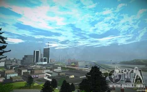 Timecyc para GTA San Andreas octavo de pantalla