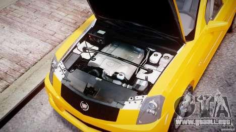 Cadillac CTS Taxi para GTA 4 visión correcta