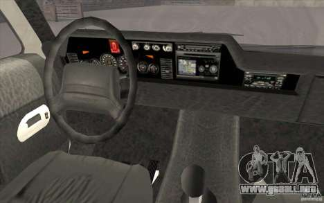 GTA3 HD Vehicles Tri-Pack III v.1.1 para GTA San Andreas interior