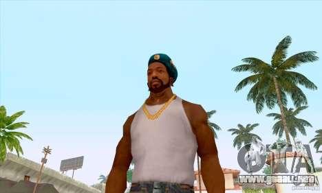 Boina en el aire para GTA San Andreas quinta pantalla