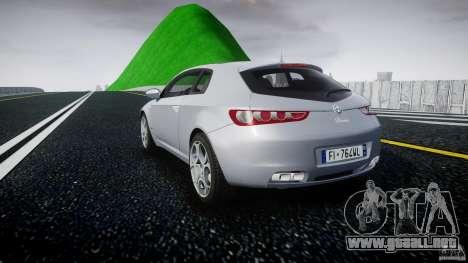 Alfa Romeo Brera Italia Independent 2009 para GTA 4 Vista posterior izquierda