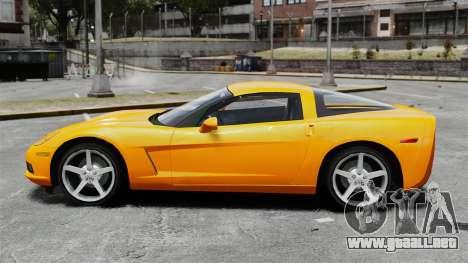 Chevrolet Corvette Z51 para GTA 4 left
