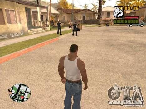 Call the Police para GTA San Andreas quinta pantalla