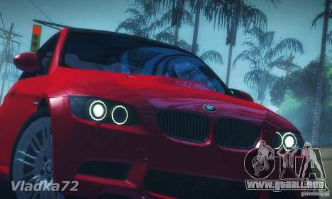 BMW E92 v2 Updated para GTA San Andreas